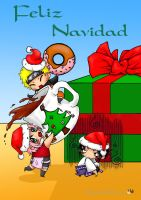 Narutard Christmas by HanHan