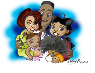 PROUD FAMILY by Quaylove3