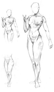 Body study #1 by Feael