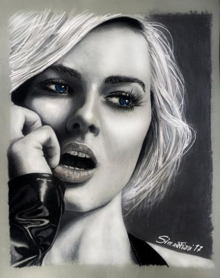 Margot Robbie by SoulShapedFace