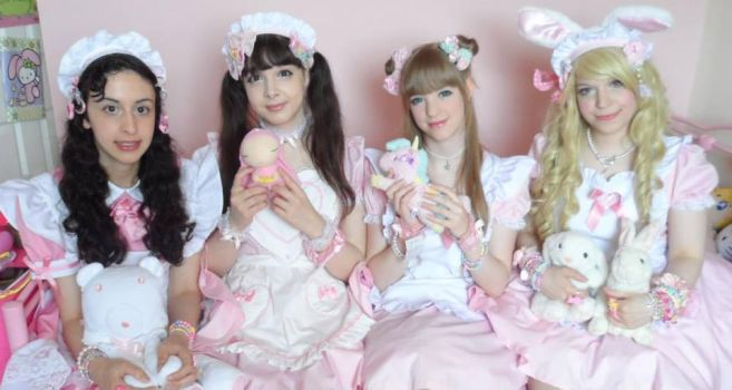 Marshmallow dreams maids! by kittie-chi