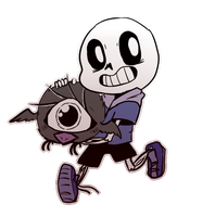 Don't Starve + Undertale | SANS AND SMALLBIRD by PikaIsCool