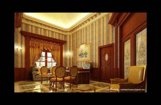 Palace Interior 3 by mohamedmansy