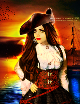 The Pirate by MysticSerenity