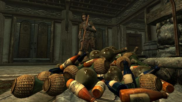 Party at the Dovahkiin. Part 11. F***ing Morndas by totalfreak2002
