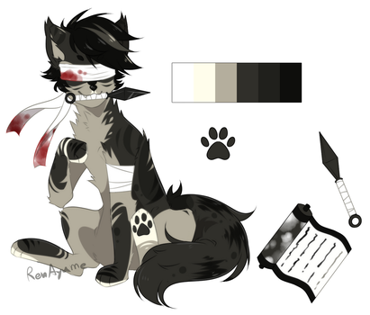 |CLOSE Auction|SB 300pts/$3 Adopt Canine#5 by RenAyumeArts