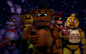 FNAF1 Pack Download (Old) by 3D-Darlin