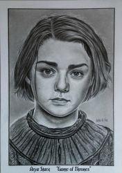 Arya Stark. Game of Thrones. by Julia-R-Ch