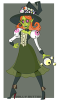 Eyeball Witch or something by Dolly-Button
