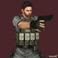LIN Chris Redfield by toughraid3r37890