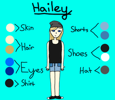 Hailey (me) reference by rainbreeze25