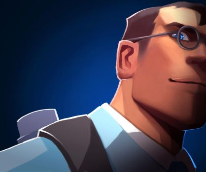 TF2 Medic B by biggreenpepper