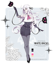 [CS: ZOMBAB] GA White Angel [CLOSED] by rein-adopts