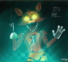 Five Nights at Freddy's Foxy by SpavVy