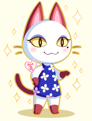 Animal Crossing New Leaf: Olivia ~ by Haato-No-Koe
