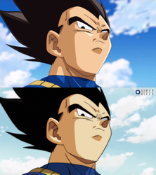 Vegeta recolored. by RenanFNA