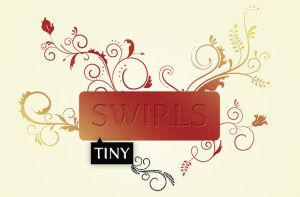 WG Tiny Swirls by wegraphics