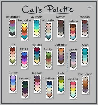 Cal's Palette by CreativeCalibre