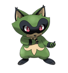 Fakemon: Gracoon by All0412