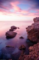 2013, Spain, Andalusia - sunrise of Nerja by Modi1985
