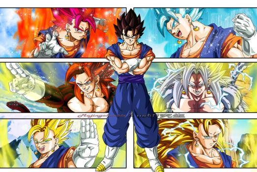 Transformaciones de Vegetto by Majingokuable