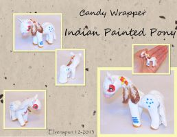 Candy Wrapper Indian Painted Pony by MalaCembra