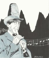 The Second Doctor and his Recorder by gravelgirty