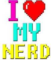 I Heart My Nerd by Craigfish