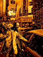 Zombies In NYC by Mephostopheles
