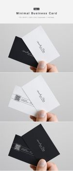 Minimal Business Card Vol.1 by shapshapy