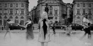 Walking Strangers by CyrilRoussy