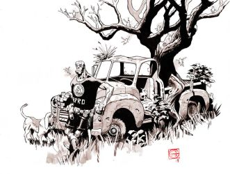 Hellboy Haunted Truck by Stephen-Green