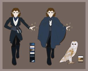 Reference: Vlad (magic AU) by I-Muria-I