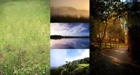New Zealand scenery stock pack 2 by CathleenTarawhiti