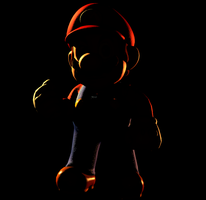 Smash for Switch Lighting Recreation Test - Mario by yoshipower879