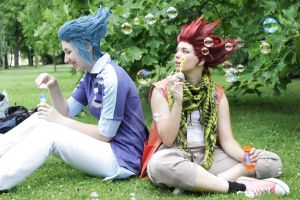Me and Isa by pepelone