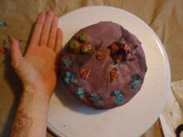 Zerg Cake -Size Comparison by Elliesmeria
