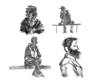 Quick sketches - 15.12.11 by blaahy