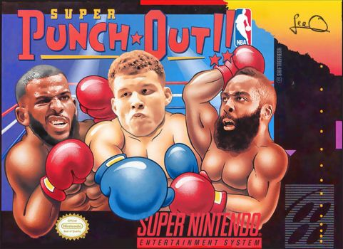 Rockets v Clippers - Super Punch Out by skythlee