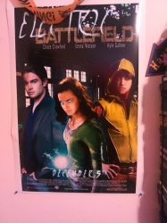 YJ: Electric Battlefield Poster by AmayahimeDoodles