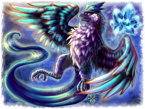 Commission - Articuno by Rabenfeder