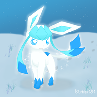 Shiny Glaceon 2 by BluuKiss