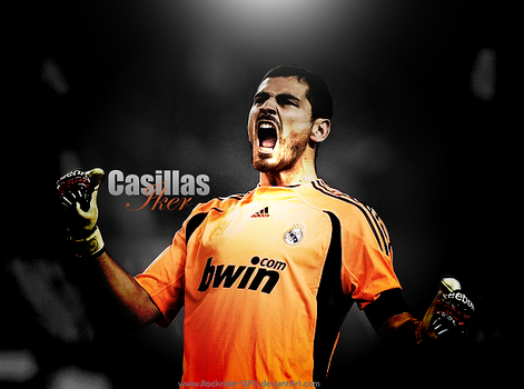 iker Casillas by rockrider-GFX