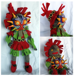 Skull Kid Doll- more shots by scilk