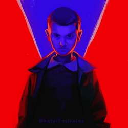 Day 82 - Eleven by katyillustrates