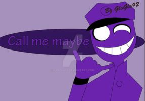 Purple guy Call by GloGlo92