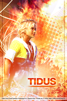 Final Fantasy X Tidus Poster by ladylucienne