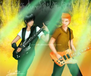 Crowley: Guitar and Bass by Yonab