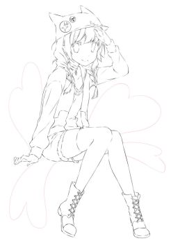 Free lineart to color by inma