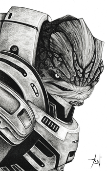 MASS EFFECT - Grunt by A--Nonyme